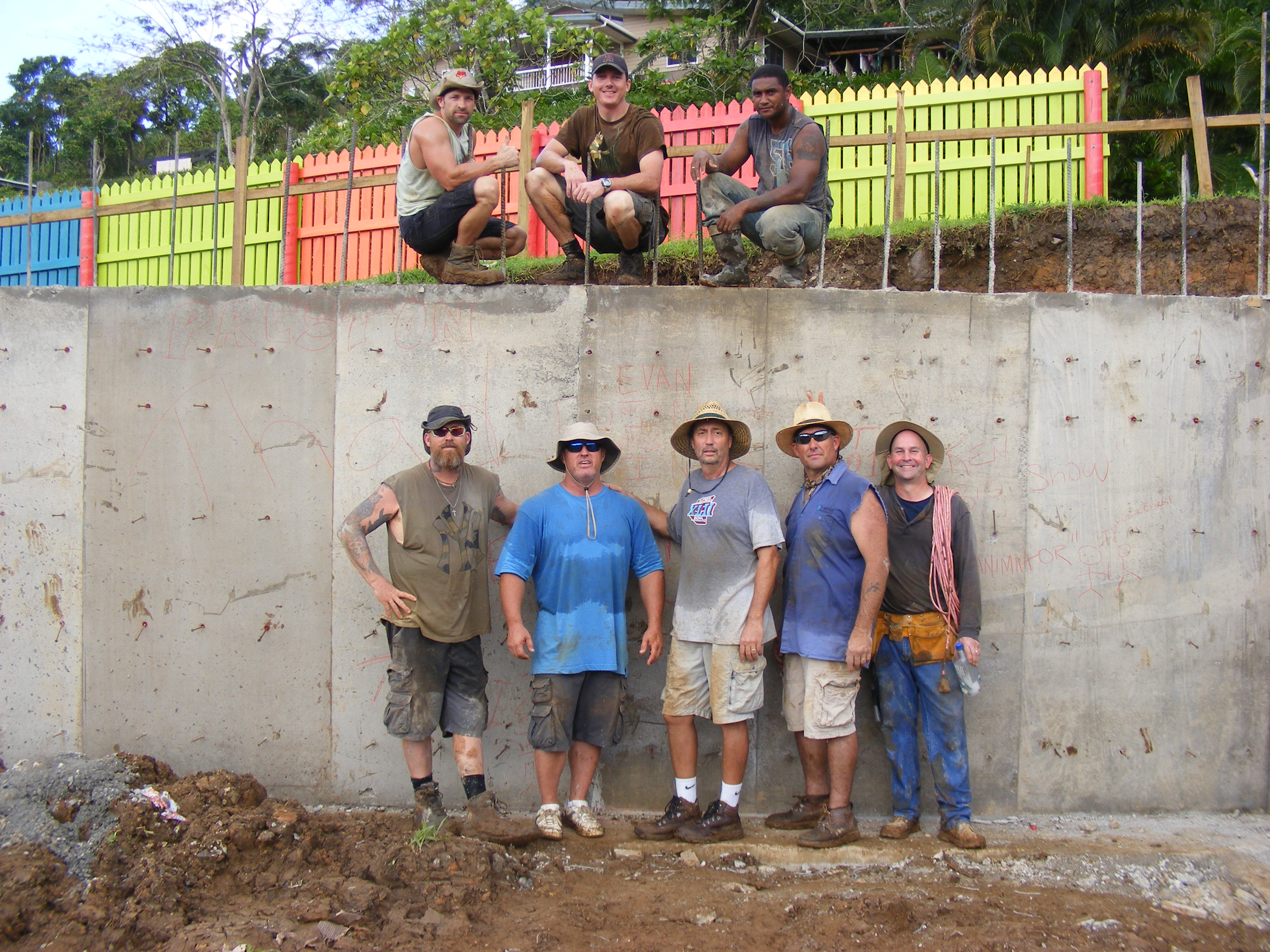 Fiji Construction Team