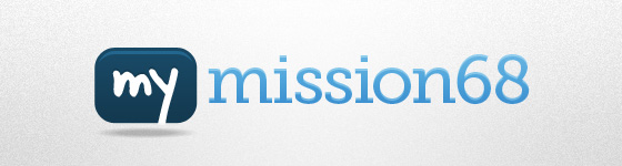 Header My MISSION68 Logo