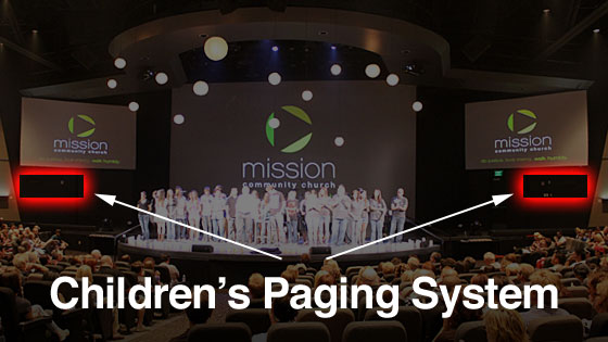 Header Children Paging Screens