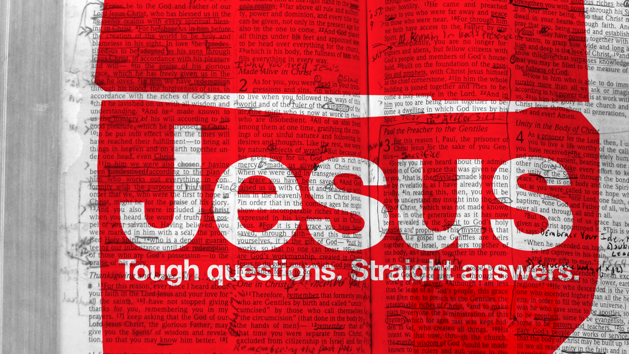 Jesus: Tough Questions, Straight Answers